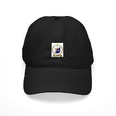 TROTTIER Family Crest Black Cap