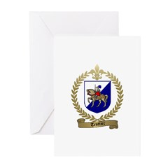 TROTTIER Family Crest Greeting Cards (Pk of 10