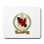 TRUDEL Family Crest Mousepad