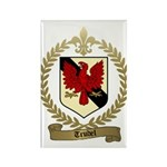 TRUDEL Family Crest Rectangle Magnet (100 pack)