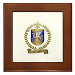 TURGEON Family Crest Framed Tile
