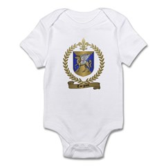TURGEON Family Crest Infant Creeper