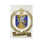 TURGEON Family Crest Rectangle Magnet (100 pack)