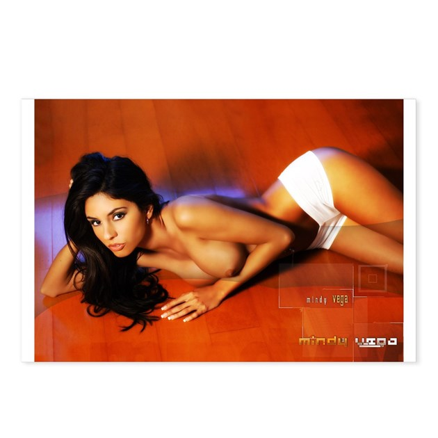 Mindy Vega Hot Shorts Postcards Package Of 8 By