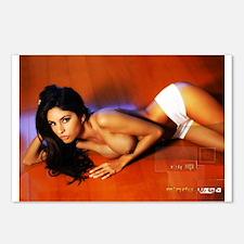 Mindy Vega Hot Shorts Postcards (Package of 8)