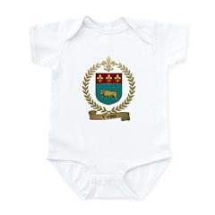VACHON Family Crest Infant Creeper