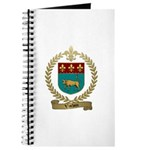 VACHON Family Crest Journal
