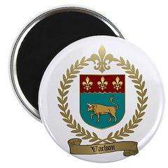 VACHON Family Crest Magnet