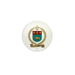 VACHON Family Crest Mini Button (10 pack)