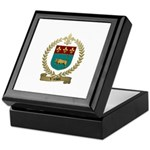 VACHON Family Crest Keepsake Box