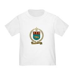 VACHON Family Crest Toddler T-Shirt