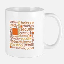Knit-A-Square Wordle Mugs