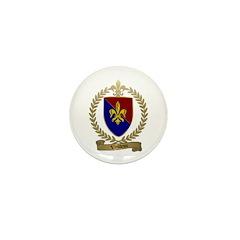 VEILLEUX Family Crest Mini Button (10 pack)