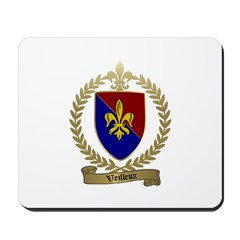 VEILLEUX Family Crest Mousepad