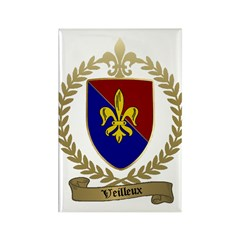 VEILLEUX Family Crest Rectangle Magnet (100 pack)