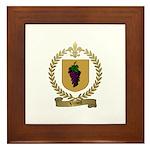 VENOIT Family Crest Framed Tile