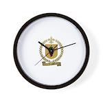 VENOIT Family Crest Wall Clock