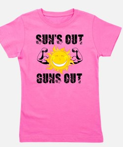 Suns Out Guns Out Summer T-Shirt