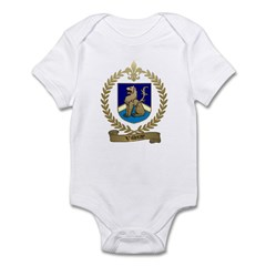 VILLERAY Family Crest Infant Creeper