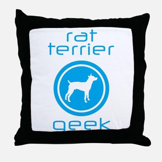 Rat Terrier Throw Pillow