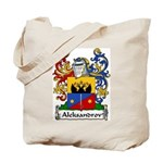 Aleksandrov Family Crest Tote Bag
