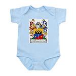 Aleksandrov Family Crest Infant Creeper
