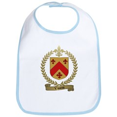 VINCENT Family Crest Bib