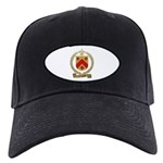 VINCENT Family Crest Black Cap