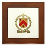 VINCENT Family Crest Framed Tile