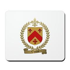 VINCENT Family Crest Mousepad