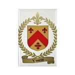 VINCENT Family Crest Rectangle Magnet