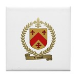 VINCENT Family Crest Tile Coaster