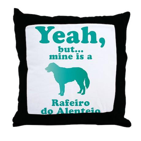 Rafeiro do Alentejo Throw Pillow