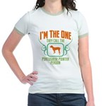 Portuguese Pointer Jr. Ringer T-Shirt