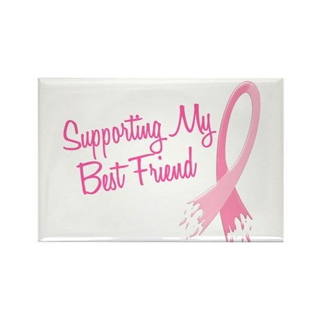 Supporting My.....Breast Cancer Rectangle Magnet (