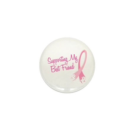Supporting My.....Breast Cancer Mini Button