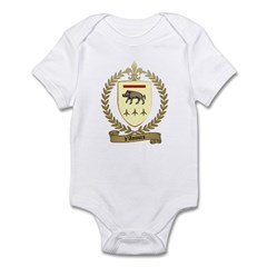D'AMOURS Family Crest Infant Creeper