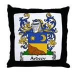 Avdeev Family Crest Throw Pillow