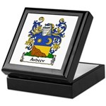Avdeev Family Crest Keepsake Box