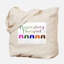 Cute Respiratory therapist Tote Bag