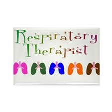 RESPIRATORY THERAPISTS MULTI COLORED SMALL Magnets