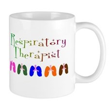 RESPIRATORY THERAPISTS MULTI COLORED SMALL Mugs