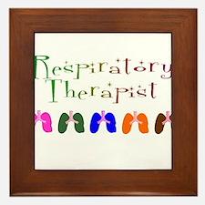 Funny Respiratory Framed Tile