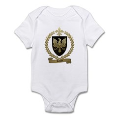 DAIGRE Family Crest Infant Creeper