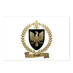 DAIGRE Family Crest Postcards (Package of 8)