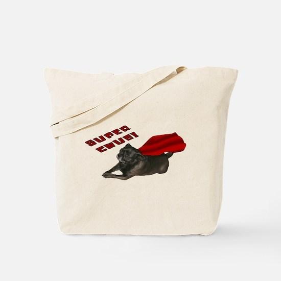 Chug, red: Tote Bag