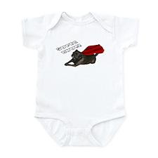Chug, white: Infant Bodysuit