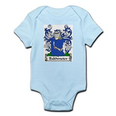 Bakhmetev Family Crest Infant Creeper