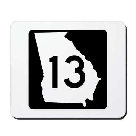 State Route 13, Georgia Mousepad