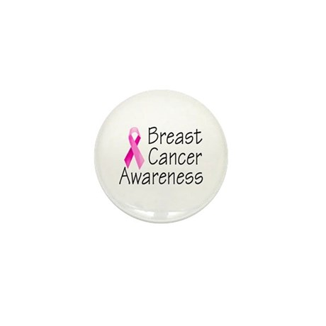 Breast Cancer Awareness 2 Mini Button (10 pack)